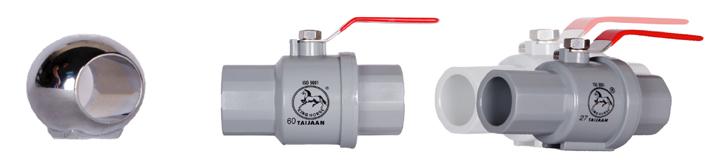 plating globe valve - Inox steel handle