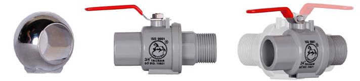 plating globe valve – Inox steel handle-Lace Outside