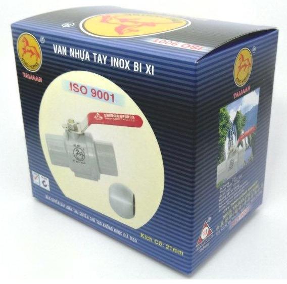 Nhựa TAIJAAN thay đổi quy cách đóng gói hàng Van Cầu Xi- BX
