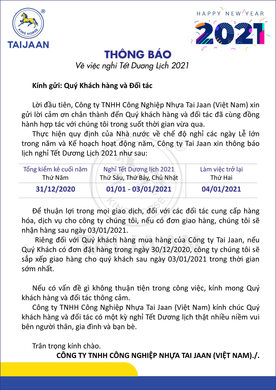 Form thong bao - form A4